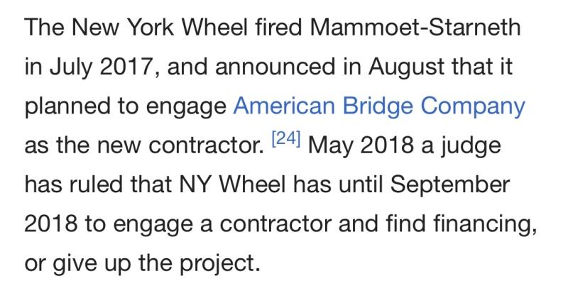 Staten Island NY Wheel
