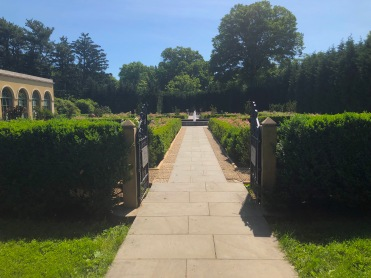 Snug Harbor, formal garden (side 2)