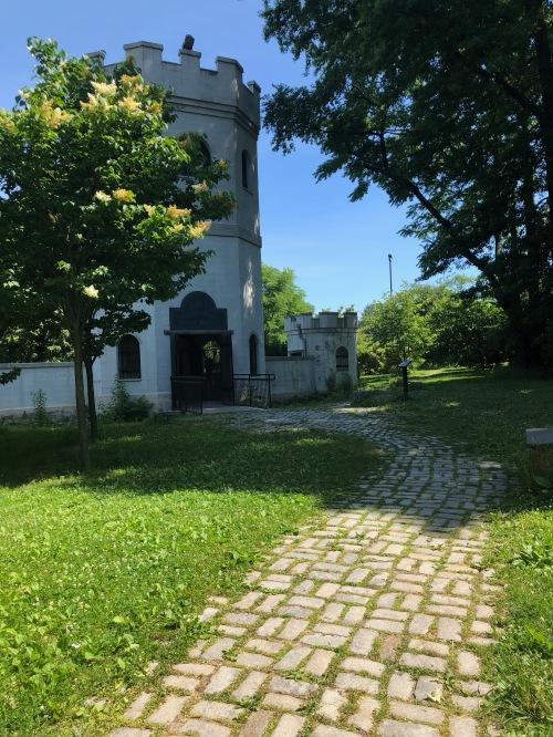 Snug Harbor, Staten Island secret garden (side View)
