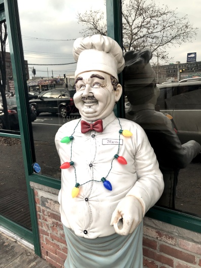 Paulie's Pizzeria mascot