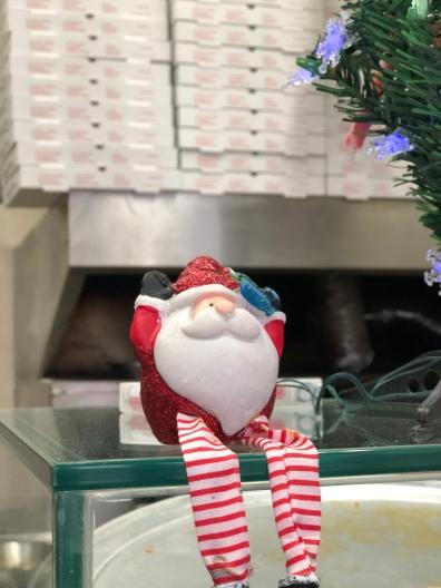 Santa at Paulie's