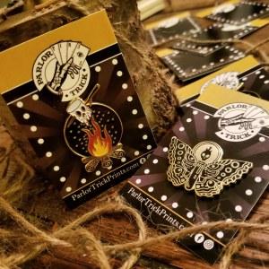 Parlor Trick Prints pins - Keri Sheheen