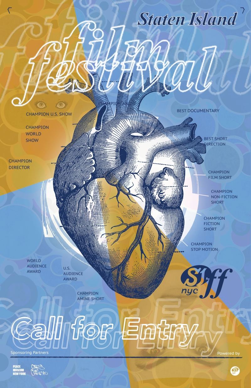 SI-FF heart poster