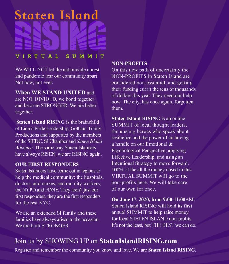 Staten Island RISING (virtual summit)