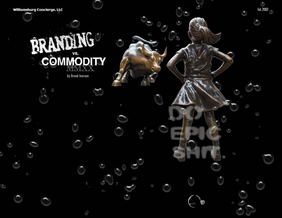 Branding vs Commodity by Breuk Iversen